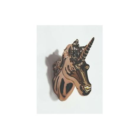 Unicorn Head Rose Gold