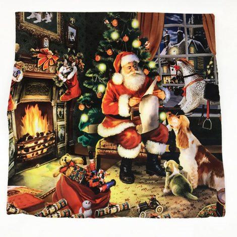 Light Up Christmas Cushion Cover