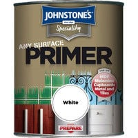 Johnstones Specialty Paints Any Surface Primer White 750ml