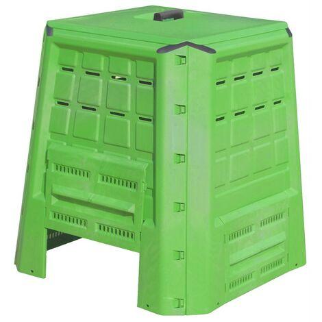 Compostiera per rifiuti organici 380 lt compostaggio giardino - Salone