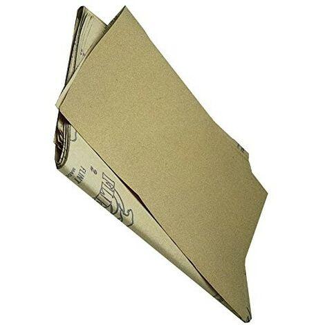 Carta Abrasiva al Corindone Rosso Mrd H:115mm Grana 60 in Rotolo 50 Mt Maurer