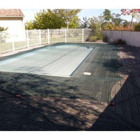 Filet anti-feuilles et végétaux pour piscine   Taille Filet: 4 x 8 m