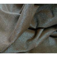 Toile d'ombrage perméable de 3x3m à tendre sur structure pergola | Chocolat