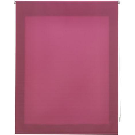 Estor enrollable traslúcido liso lila 140x175 cm (ancho x alto)