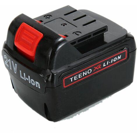 Batterie de remplacement pour TEENO Perceuse 21V 5816 et 5819