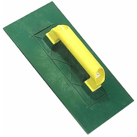 Talocha plástico Lisa 275x155 mm.amarilla