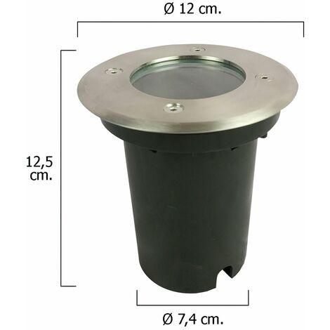 Foco Led Empotrar IP67 Color Inox