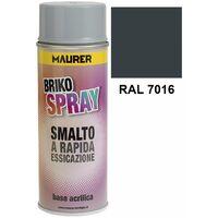 Spray Pintura Gris Antracita 400 ml.