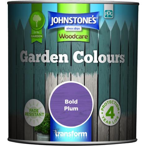 Johnstone's Garden Colours Bold Plum 1l