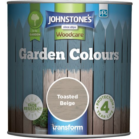 Johnstone's Garden Colours Toasted Beige 1l