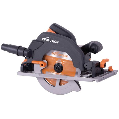 Evolution R185ccsx+ Circular Track Saw 185mm 1600w 110v