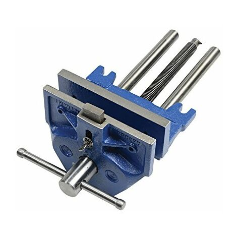 IRWIN Record 53PD Plain Screw Woodworking Vice 270mm (10.1/2in) & Front Dog