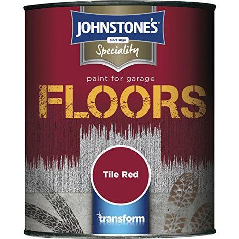 Johnstone's 2.5L Garage Floor Paint - Tile Red