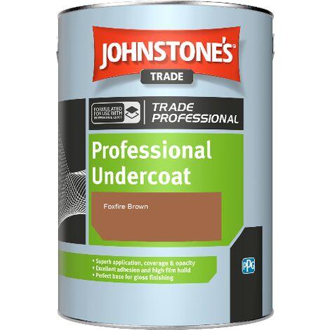 Johnstone's Professional Undercoat - Foxfire Brown - 5ltr