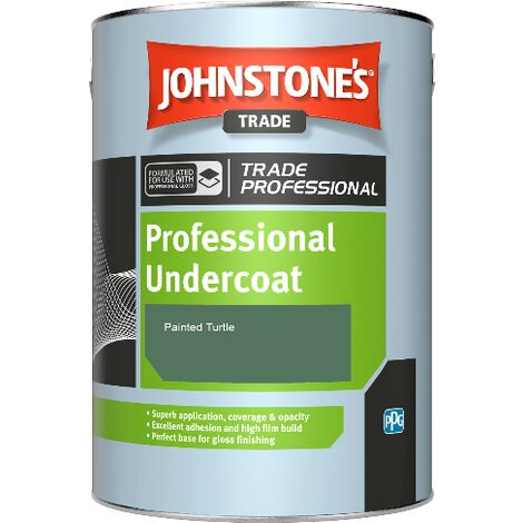 Johnstone's Professional Undercoat - Painted Turtle - 2.5ltr