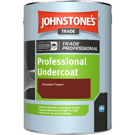 Johnstone's Professional Undercoat - Roasted Pepper - 1ltr