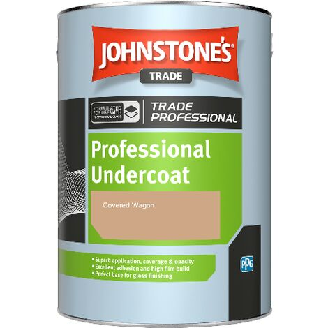 Johnstone's Professional Undercoat - Covered Wagon - 1ltr