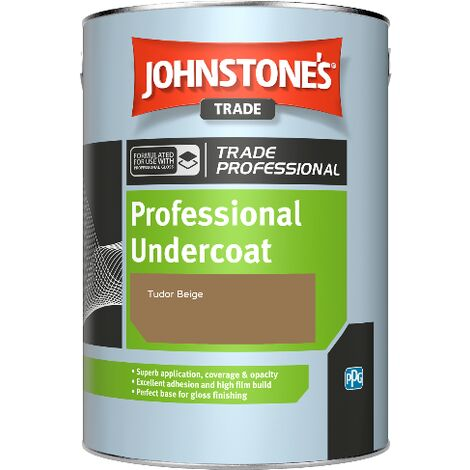 Johnstone's Professional Undercoat - Tudor Beige - 1ltr