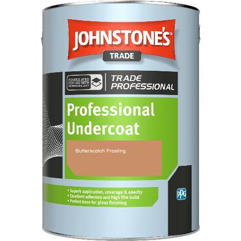 Johnstone's Professional Undercoat - Butterscotch Frosting - 1ltr