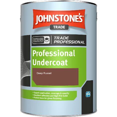 Johnstone's Professional Undercoat - Deep Russet - 1ltr