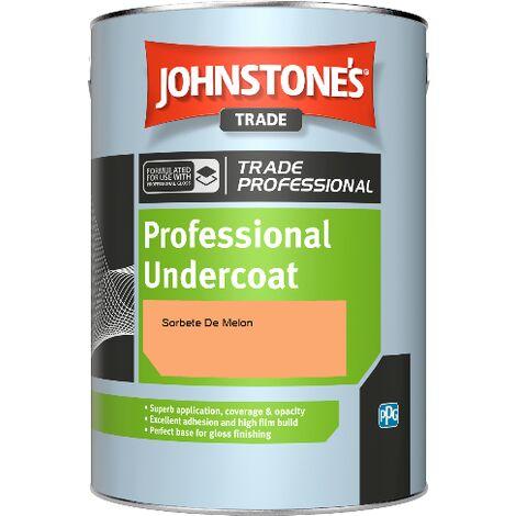 Johnstone's Professional Undercoat - Sorbete De Melon - 1ltr