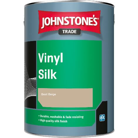 Johnstone's Trade Vinyl Silk - Best Beige - 1ltr