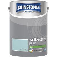 Johnstone's 5 Litre Silk Emulsion Paint - New Duck Egg