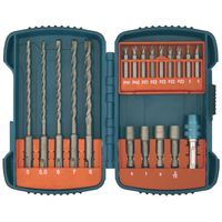 Makita SDS Plus Hammer Drill and Driver Set, 19 Piece