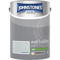 5 Litre Silk Emulsion Paint - Frosted Silver