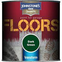 Johnstone's 307939 250ml Garage Floor Paint - Dark Green