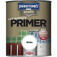 Johnstone's Speciality Any Surface Primer, White, 250ml