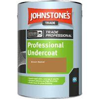 Johnstone's Professional Undercoat - Brown Basket - 1ltr