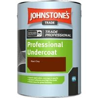 Johnstone's Professional Undercoat - Red Clay - 1ltr