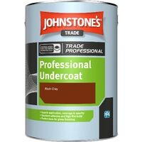 Johnstone's Professional Undercoat - Rich Clay - 1ltr