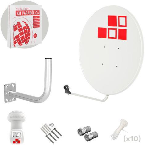 Utilidad y funcionamiento de una antena parabólica