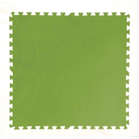 Flowclear Pool-Bodenschutzfliesen-Set, 8 Stück á 81 x 81 cm, grün