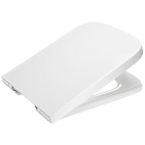 ROCA Tapa lacada y aro para inodoro - Serie Dama , Color Blanco