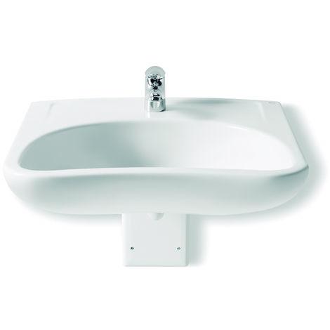 ROCA Lavabo de porcelana suspendido - Serie Access , Color Blanco