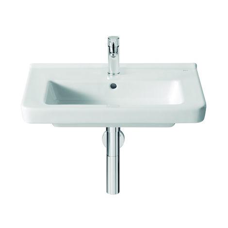 ROCA Lavabo de porcelana compacto suspendido - Serie Dama , Color Blanco