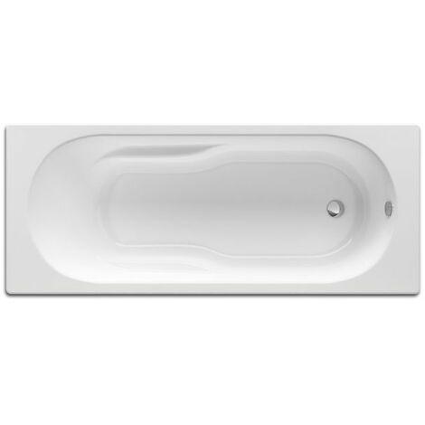 ROCA Bañera acrílica rectangular Genova-N 1700X750 - Blanco