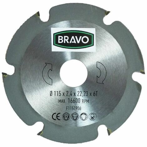 Bravo Disco corte madera ÿ 115