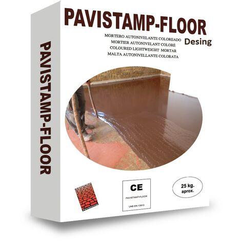 Autonivelante coloreado y decorativo Pavistamp Floor DESING   Blanco