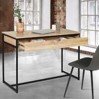 Bureau 1 tiroir DETROIT design industriel