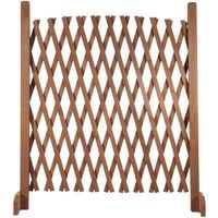 Barrière extensible bois treillis 30 à 150 CM