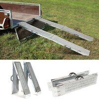 Set de 2 rampes pliables galvanisées spécial chargement