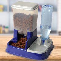 Distributeur eau et croquettes automatique pour chien et chat