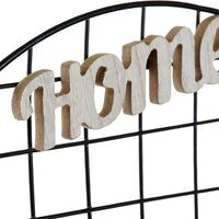 Quadro Portafoto con Mollette DKD Home Decor Metallo (40 x 40 x 1 cm)