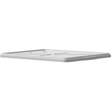 """Coperchio per cassa chiusa modello """"Light Box"""" 19 litri - Bianco neutro - Mobil Plastic"""