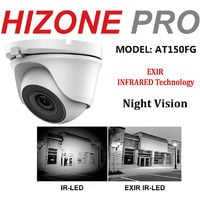 HIZONE PRO 8MP CCTV KIT SECURITY SYSTEM 4K DVR 8CH H.265+ & 5X 5MP WHITE FULL HD METAL HOUSING IP66 WATERPROOF INDOOR OUTDOOR WHITE DOME CAMERAS 20M IR NIGHT VISION EASY P2P REMOTE VIEW (NO HDD PRE-INSTALLED)