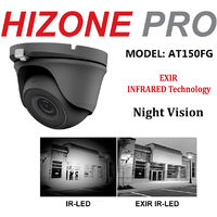 HIZONE PRO 8MP CCTV KIT SECURITY SYSTEM 4K DVR 8CH+& 5X5MP FULL HD METAL HOUSING WATERPROOF IN/OUTDOOR DOME CAMERAS 20M NIGHTVISION P2P MOTION DETECTION EMAIL ALERT REMOTE VIEW (1TB HDD PRE-INSTALLED)